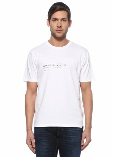 7 For All Mankind Polo Yaka T-shirt Beyaz